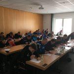 22 Teilnehmer beim Basislehrgang C-Lizenz des FVSL in der Sportschule des SFV