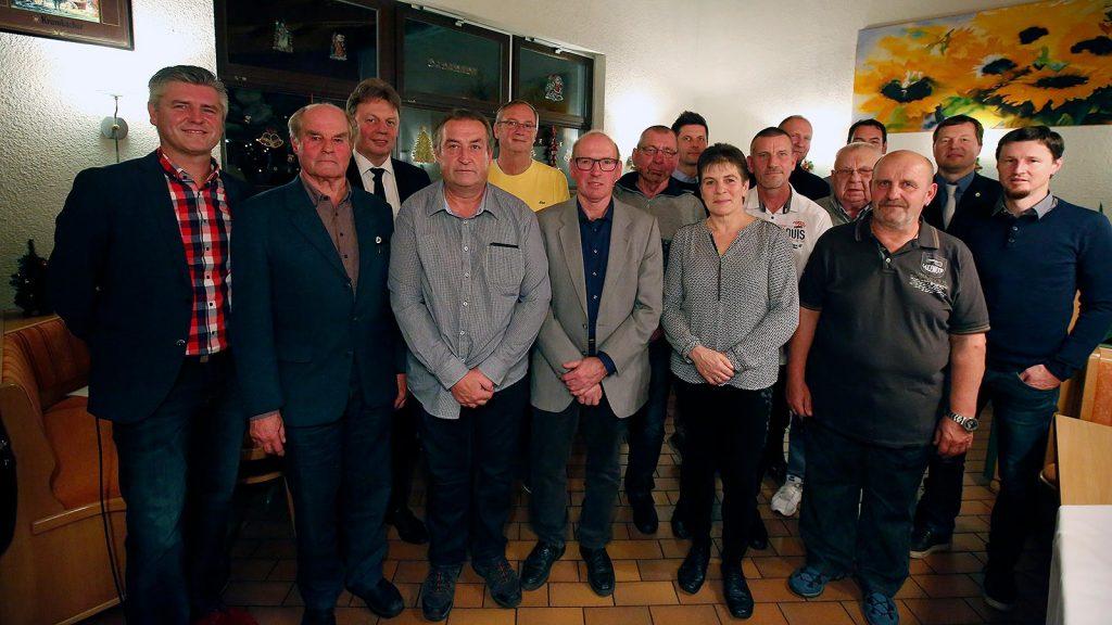 Die Geehrten des Ehrenamtstages 2018. (Foto: Dirk Knofe/Sportbuzzer)