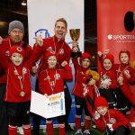 Die Bambini im Bereich des FVSL trugen am 9. Februar ihre HAllenendrunde im Rahmen des 6. LVZ-SPORTBUZZER-Cups aus. (Foto: Dirk Knofe)
