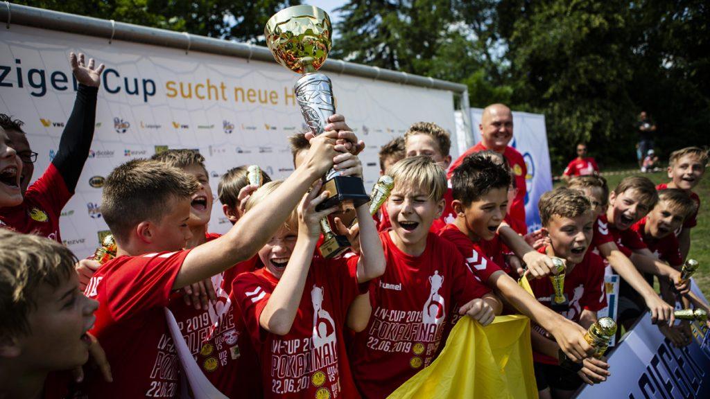 Siegerehrung der D-Junioren, der Sg Olympia.
